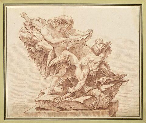 Apollon écorchant Marsyas
