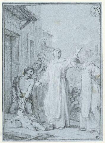 Saint Benoît ressuscitant un enfant