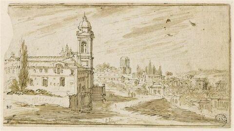 L'église de la Trinité-des-Monts à Rome