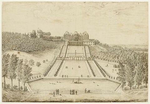 Vue du château de Meudon