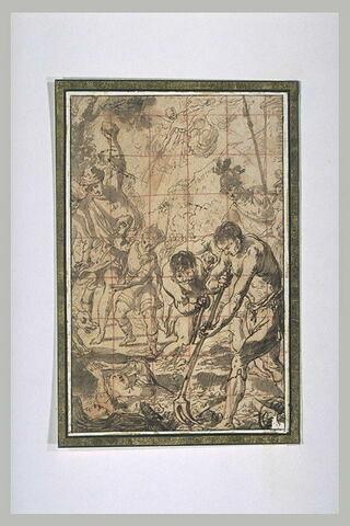 Martyre de saint Chrysanthe et sainte Daria