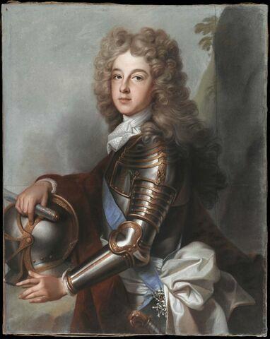 Portrait de Philippe de France, duc d'Anjou ( 1683-1746).