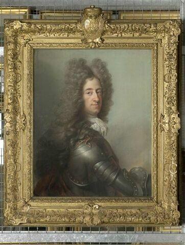 Portrait de Maximilien Emmanuel, duc et Electeur de Bavière ( 1662-1726).