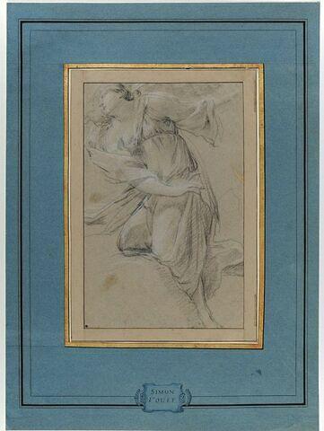 Sainte Marguerite tournée vers la gauche