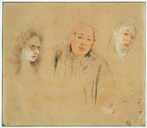 Trois portraits de musiciens