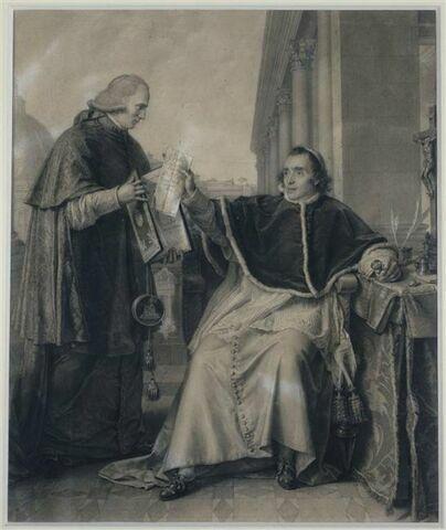 Signature du concordat par le pape Pie VII, le quinze août 1801