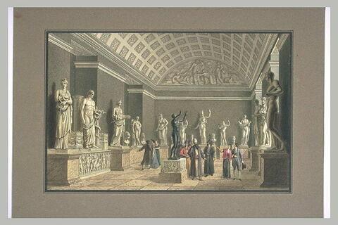 Visite de personnages étrangers dans le Museum National