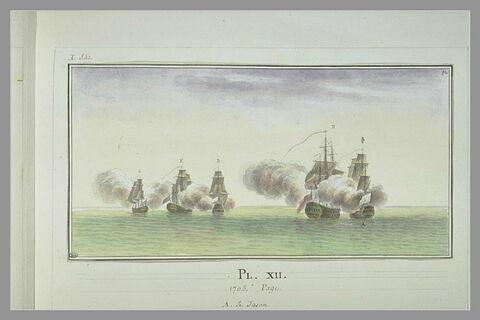 Campagnes de Duguay-Trouin : prise de l'Elisabeth, 1705