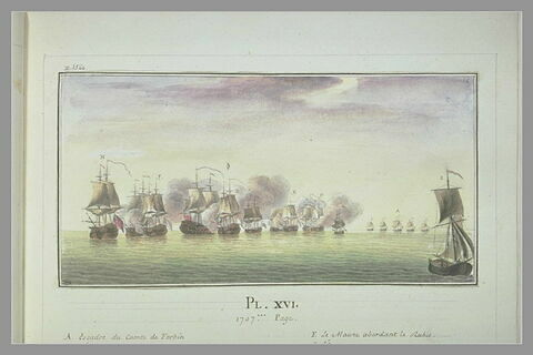 Campagnes de Duguay-Trouin : attaque du Cumberland, 1707