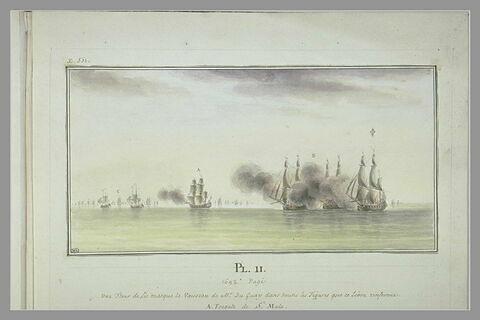 Campagnes de Duguay-Trouin : prise de deux bâtiments marchands anglais, 1692
