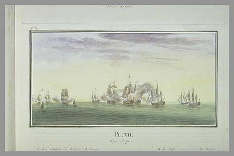 Campagnes de Duguay-Trouin : prise de quinze navires hollandais, 1697