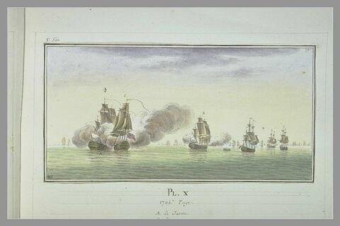 Campagnes de Duguay-Trouin ; prise du vaisseau le Coventry, 1704