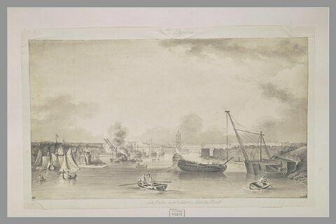 La cale de la mâture - Port de Brest