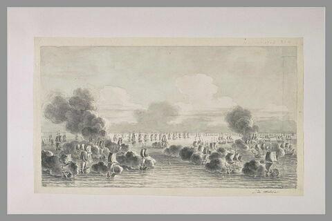Combat de Malaga, en 1704