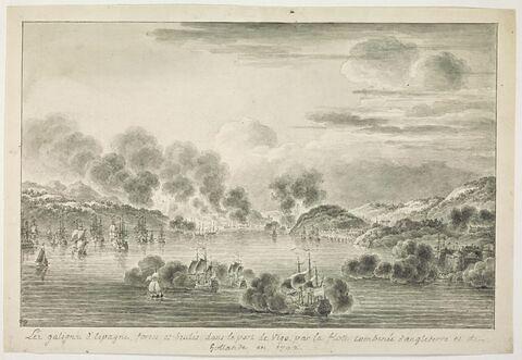 Attaque et destruction des galions d'Espagne dans la baie de Vigo, 1702