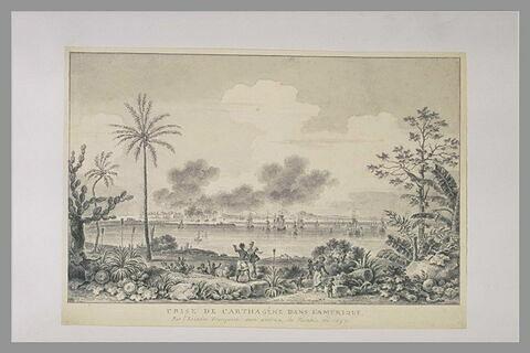 Prise de Carthagène en Amérique en 1697