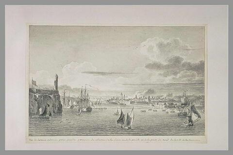Disposition pour l'attaque du château de la Punta à Cuba, en 1762