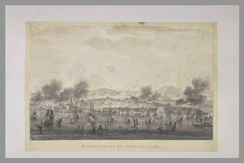 Bombardement de Gênes, en 1684