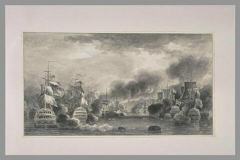 Combat naval
