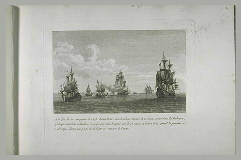 Jean Bart croisant dans la Baltique, 1675