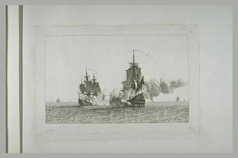 Jean Bart prend un vaisseau espagnol en 1683