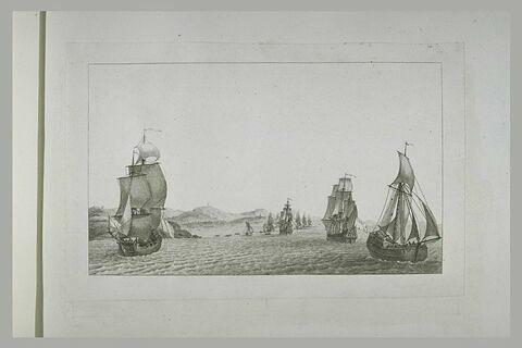 Jean Bart fait une descente près de New-Castle, 1602