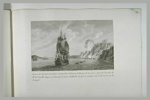 Jean Bart attaque et détruit six vaisseaux de guerre hollandais