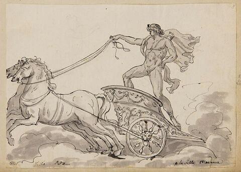 Apollon sur un char