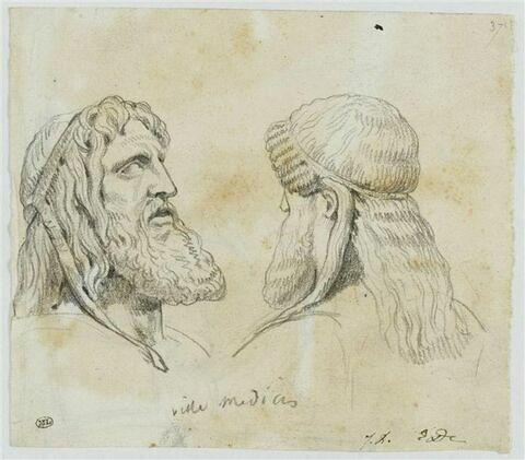 Deux bustes de Dionysos
