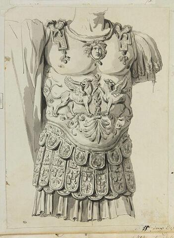 Une cuirasse romaine