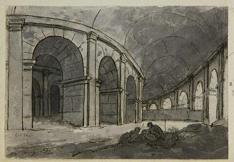 Galeries intérieures du Colisée