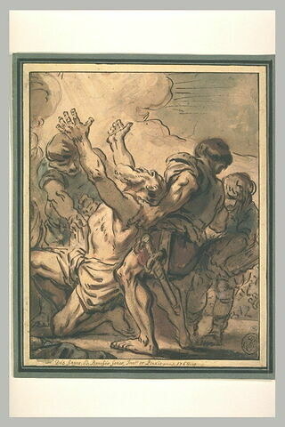 Martyre d'un saint