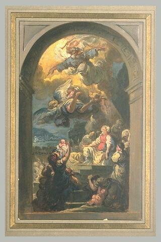 Sainte Geneviève met fin au Mal des Ardents