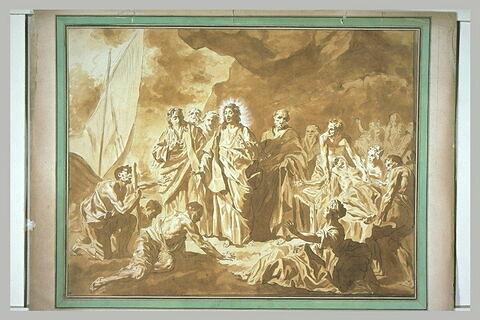 Jésus guérissant les malades