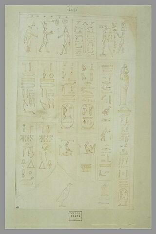Inscriptions hiéroglyphes