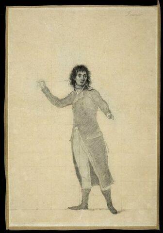 Portrait de Fourier, géomètre, secrétaire de l'Institut d'Egypte