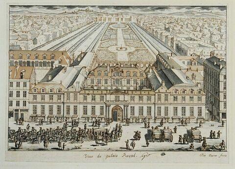 Vue du Palais Royal