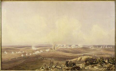 Bataille d'Auterlitz le 2 décembre 1805 à dix heures du matin