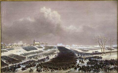 Bataille d'Eylau le 8 février 1807
