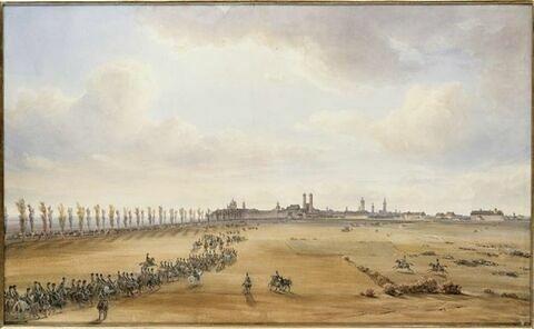 Entrée des français à Munich le 8 octobre 1805