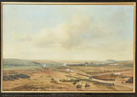 Combat d'Hollabrünn le 10 juillet 1809