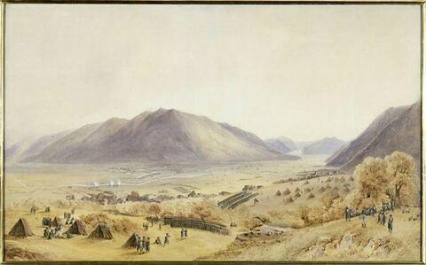 Passage de la Linth à Bilten le 25 septembre 1799