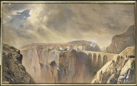Première attaque de Constantine le 23 novembre 1836