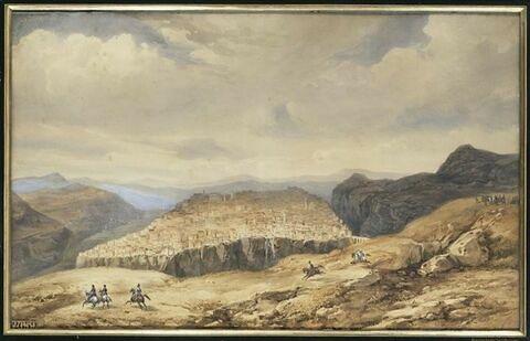 L'armée arrive devant Constantine le 6 octobre 1837