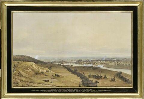 Bataille de Montereau le 18 février 1814 à trois heures de l'après midi