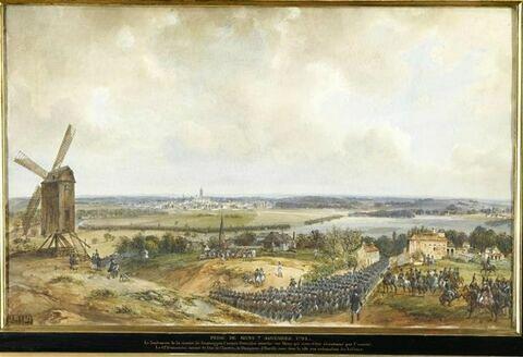 Prise de Mons le 7 novembre 1792