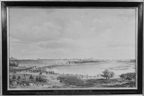 Combat de Gunzbourg le 9 octobre 1807, à trois heures du soir