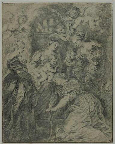 Le Couronnement de sainte Catherine