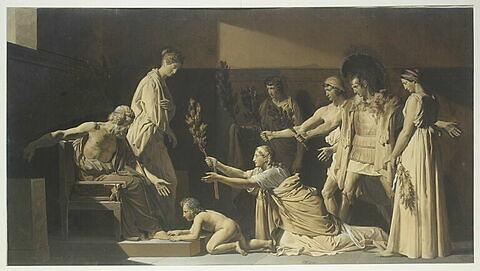 Pyrrhus le jeune et d'autres personnages