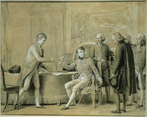 Signature du concordat entre la France et le Saint Siège le 15 juillet 1801